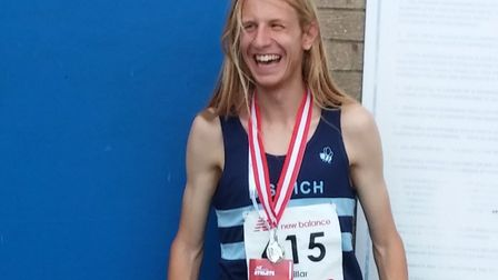 Jack Millar, who won the Great Bentley Friday Five in a superb 24mins 12secs last Friday evening