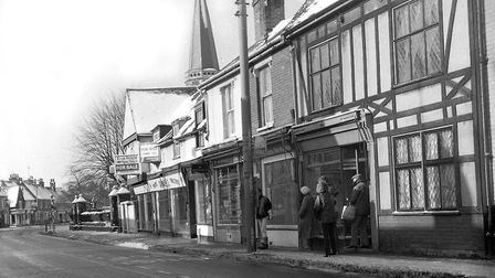 Shops in St Helens Street, Ipswich. PICTURE: DAVE KINDRED
