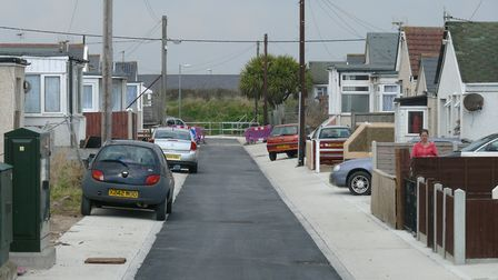 Parts of Jaywick are said to be the most deprived of all English neighbourhoods. Picture: ARCHANT LI