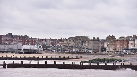 Much of Lowestoft seafront is in the 10% most deprived neighbourhoods. PICTURE: Nick Butcher