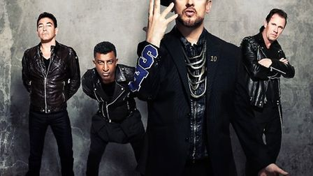 Culture Club performed at Newmarket Racecourse on Friday night