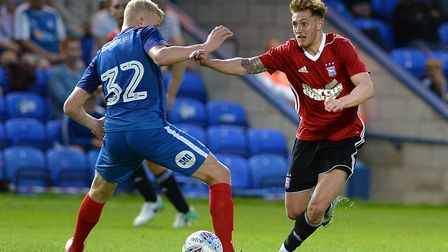 Teddy Bishop was a regular for Ipswich Town in 2014/15, but has seen his progress halted by long-ter