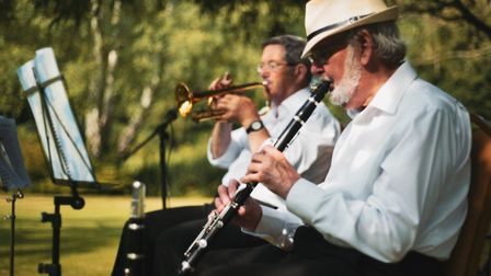Jazz musicians at Lighthouse Training's fifth anniversary event. Picture: Lighthouse Training