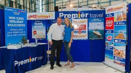 Premier Travel and Jet2.com teamed up to exhibit at the Check-in @ Stansted Business Exhibition. Pi