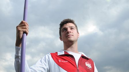 Javelin thrower Don Baker, from Bentley, who is set to compete at the Commonwealth Youth Games in t