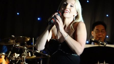 Ipswich-bases soprano Fiona Jessica Wilson, who topped the iTunes vocal downloads charts with Paradi