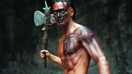 Mark Dacascos in the French blockbuster Brotherhood of the Wolf. Photo: Pathe