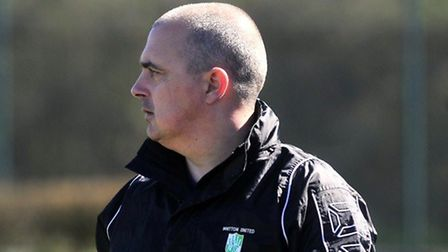 Paul Bugg, new manager of Leiston Reserves
