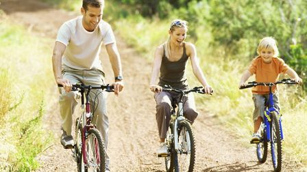 Family Bike Ride which is happening in Felixstowe Sunday. Picture: CONTRIBUTED