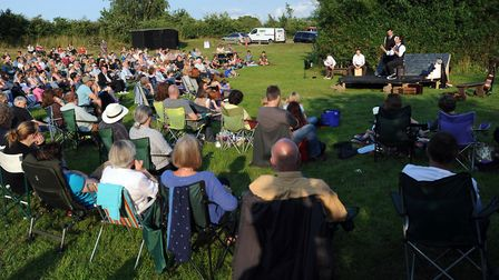 An open air theatre production. Picture: PHIL MORLEY
