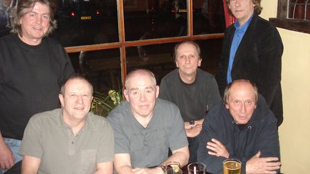 The members of Village Green reunited in 2009. Picture: ARCHANT ARCHIVE