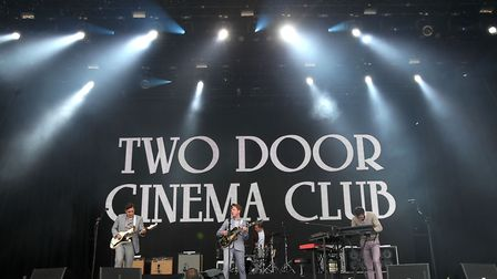 Two Door Cinema Club will be special guests at Latitude 2017 Picture: NIALL CARSON/PA WIRE