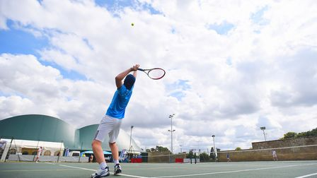 The Bury and West Suffolk Tennis Tournament celebrates its 90th birthday this year. Picture: GREGG B