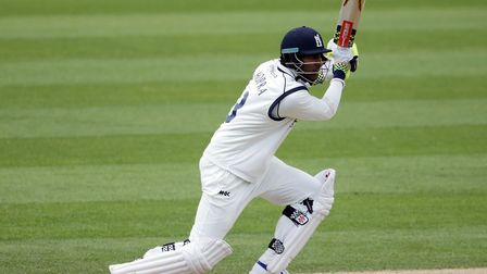 Varun Chopra, who scored 100 not out for Essex against Middlesex. Picture: P