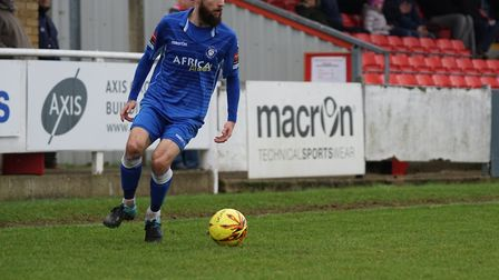 Chris Henderson has signed for Leiston fron Lowestoft. Picture: SHIRLEY D WHITLOW