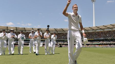 Stuart Broad is England's top bowler, according to Don Topley. Picture: PA SPORT
