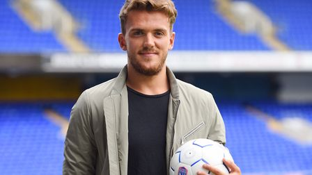 New Ipswich Town signing, Emyr Huws. Picture : SARAH LUCY BROWN