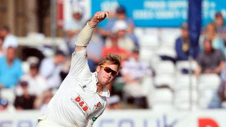 Simon Harmer took an incredible nine wickets. Picture: PA SPORT