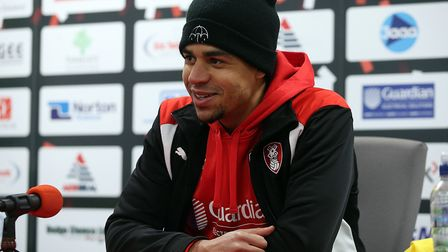 Tom Adeyemi is set to sign for Ipswich Town today. Picture: FOCUS IMAGES