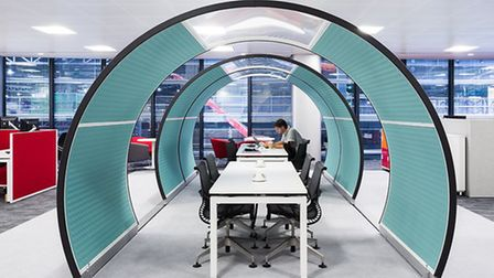 Office interior designed by Engine Room