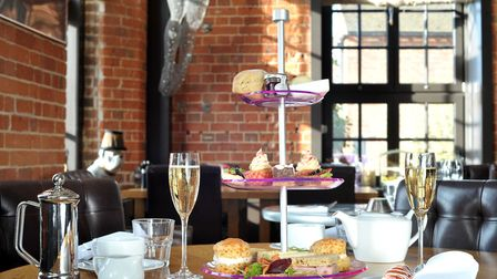 Afternoon tea at The Salthouse Harbour Hotel on Ipswich Waterfront. Picture: SARAH LUCY BROWN
