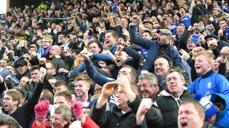 Ipswich Town are trying to cap away prices for travelling fans. Photo: PAGEPIX
