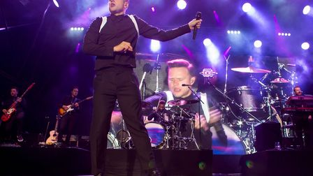 Olly Murs performed at Forest Live 2017 at Thetford High Lodge. Picture: LEE BLANCHFLOWER