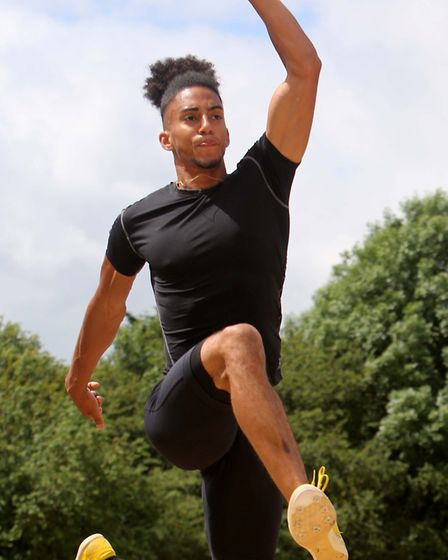 Ipswich-based Anton Dixon is attempting to qualify for the Commonwealth Games with Canada.