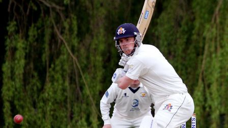 Tom Rash, who scored 46, more than half of his Copdock's side total of 81, in a nine-wicket defeat a