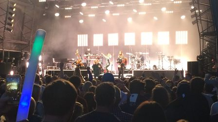 Clean Bandit perform at Thetford Live at Thetford Forest. Picture: NATALIE SADLER