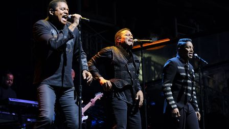 The Jacksons at Newmarket nights, Newmarket Racecourse. Picture: JOHN HOY