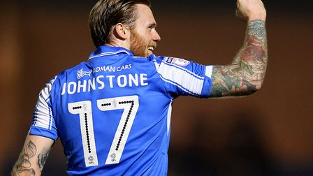 Denny Johnstone, who will return to Colchester United's first-team for today's friendly at Maldon &