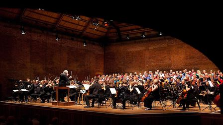 Trianon Music Group perform at Snape Maltings. Picture: GEOFF ROGERS