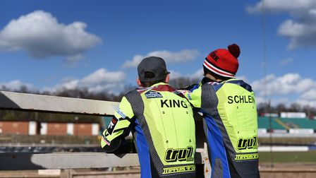 Danny King and Rory Schlein. Rory had another fine weekend and has been a great addition to the Witc