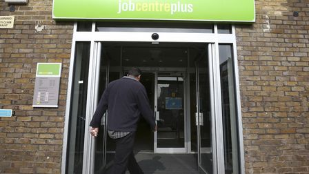 The pay squeeze on British households has intensified despite a new record level of employment. Pic