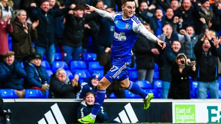 Tom Lawrence has been linked with a move to Derby County. Photo: STEVE WALLER
