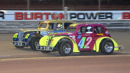 The oval track legends will thrill at Foxhall on Saturday