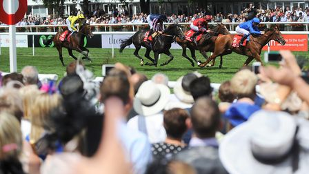 It's Ladies Day at Newmarket on Thursday, one of the highlights of the racing calendar. Picture: GRE