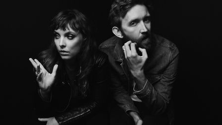 Sylvan Esso, performing at this year's Latitude Festival. Photo: Contributed