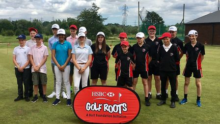 Players from County Upper School at Bury St Edmunds (left), who will be going to a tournament at For