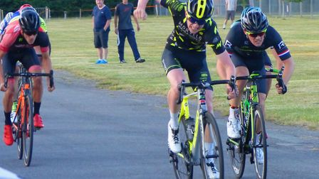 Rob Ormond wins from Mitch Powell at Trinity Park. Pictures: FERGUS MUIR