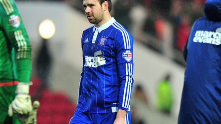 Brett Pitman says he has no regrets over his time at Ipswich Town. Photo: PAGEPIX