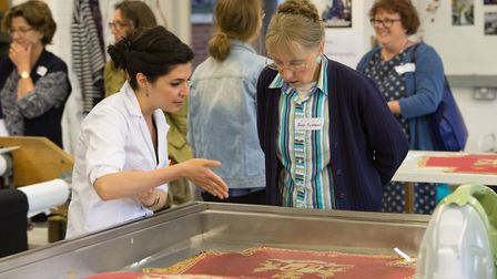May Berkouwer Textile Conservation open day