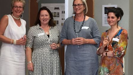 The team at May Berkouwer Textile Conservation