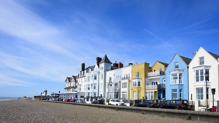 Aldeburgh's summer craft show is this Saturday. Picture: BARRY PULLEN
