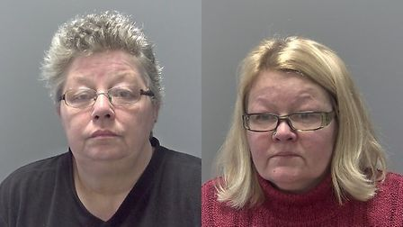 Sally-Anne Sadler and Tracy Tate. Picture: SUFFOLK POLICE