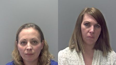 Rachel Hassall and Angelina Mosley. Picture: SUFFOLK POLICE