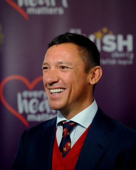 Frankie Dettori launching the West Suffolk Hospital My WiSH Charity 'Every Heart Matters' appeal. Pi