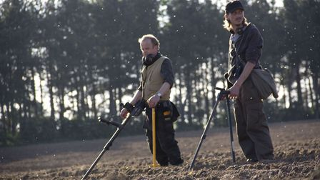 Toby Jones, who plays Lance in the Detectorists, pictured left, has reflected on life filming in Fra