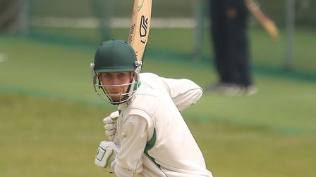 James Scott, who scored 125 in Mistley's victory over Hadleigh on Saturday. Picture: SEANA HUGHES